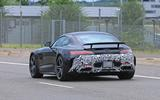 2019 Mercedes AMG GT spies rear