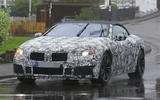 BMW M8 – new pics of M8 Convertible