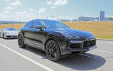 Porsche Cayenne coupé: first pictures of 2019 BMW X6 rival