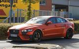 New Jaguar XE SV Project 8 tests at the Nürburgring