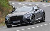 2018 Bentley Continental GT seen almost undisguised