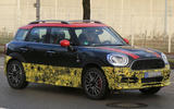2016 Mini Countryman JCW: new spy pictures
