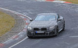BMW M8: new pictures show coupé and convertible differences
