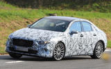 Mercedes-Benz A-Class saloon tests on public roads for the first time