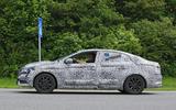 2017 Renault Mégane saloon spy shot