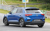 Volkswagen T-Roc R: 306bhp hot SUV caught testing at the Nürburgring