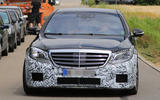 Mercedes-AMG S 63 facelift spy picture