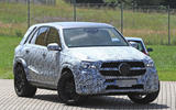 2018 Mercedes-Benz GLE - hot GLE 63 variant spotted