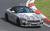 2018 BMW Z4 spotted testing flat-out at Nürburgring