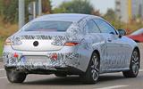 New Mercedes-Benz E-Class Coupé - latest spy pictures