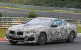 BMW 8 Series test car offers clearest glimpse of coupé design
