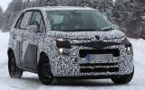 Citroën C3 Picasso spy shots