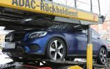 Mercedes-Benz GLC Coupé spy shots
