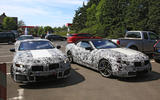 BMW 8 Series coupé and convertible sighting shows design differences