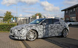 2019 Mercedes-AMG A45 'Predator' seen in production bodywork