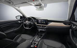 Skoda Scala dashboard photo
