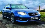 Subaru Legacy 3.0R Spec B blue