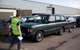 Range Rover Vogue scrap