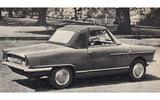 1965 NSU Wankel Spider Autocar road test