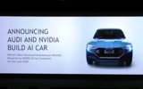 Audi and Nvidia will introduce AI car by 2020