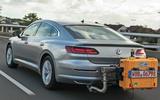 VW exhaust testing