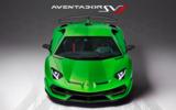 Lamborghini Aventador SVJ Instagram post