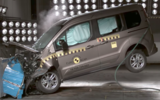 Ford Tourneo Connect crash test