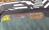 2020 Land Rover Defender spyshots - EV sticker