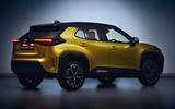 2020 Toyota Yaris Cross unveiling - rear