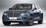 2020 Bentley Bentayga facelift leaked image - front