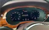 2020 Bentley Bentayga facelift leaked image - clocks
