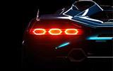 Lamborghini new model preview - brake light