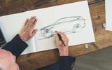 Jaguar I-Pace sketch