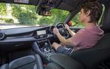 Alfa Romeo Giulia Quadrifoglio 2020 UK first drive review - Simon Davis driving