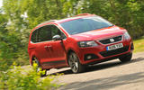 Seat Alhambra front cornering