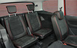 Seat Alhambra rear seats