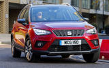 Seat Arona 1.5 TSI EVO FR cornering