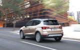 Seat Arona on the road