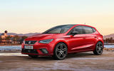 2017 Seat Ibiza revealed side and front