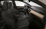2017 Seat Ibiza revealed interior from angle