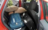 Seat Ibiza stuffed to the rafters