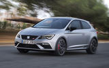 Seat Leon Cupra 300 side view