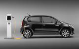 2020 Seat Mii electric press shots - charging