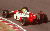 Ayrton Senna McLaren MP4-4