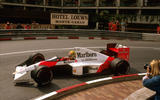 Ayrton Senna at Monaco