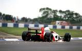 Ayrton Senna McLaren rear