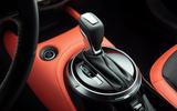 2020 Nissan Juke reveal - gearstick