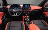 2020 Nissan Juke reveal - interior