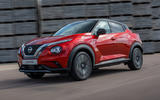 2020 Nissan Juke reveal - driving front