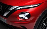 2020 Nissan Juke reveal - headlight detail